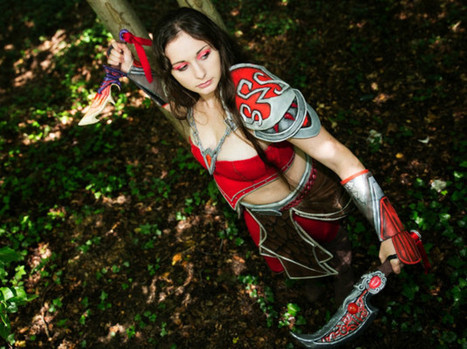 Sarah donne vie aux personnages de jeux vidéos avec le cosplay - L'Informateur, L'Eclaireur | Cosplay | Scoop.it