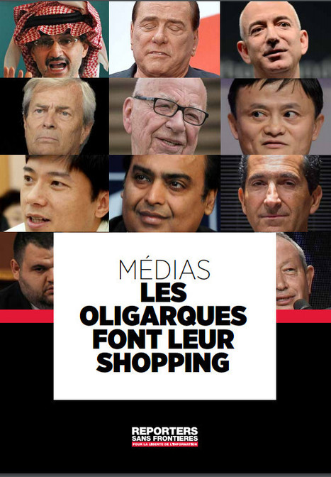 """Médias : les oligarques font leur shopping"" 