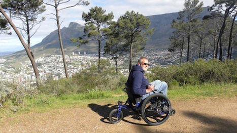Mountain bike technology behind off-road wheelchair - Mail & Guardian Online   Scooters don't have to be red!   Scoop.it