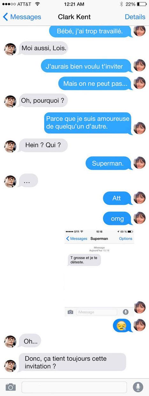 WTF : Et si les super-héros envoyaient des sextos ? | Superheroes & Supervillains | Scoop.it