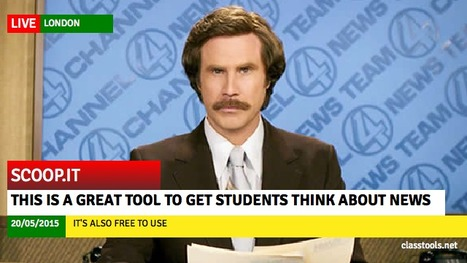 ClassTools Breaking News Generator | Technology and language learning | Scoop.it
