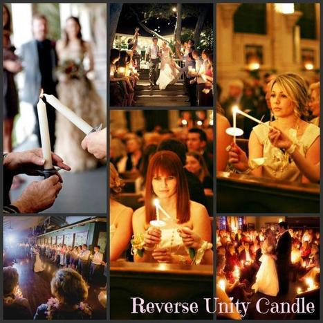 Reverse Unity Candle|Uniquely You Planning On How To Plan A Perfect Wedding | Wedding Planning | Scoop.it