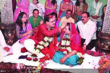 Couples renewing their wedding vows - Times of India   Indian Wedding Hair and Makeup in Parlin, NJ - SakhiBeauty   Scoop.it