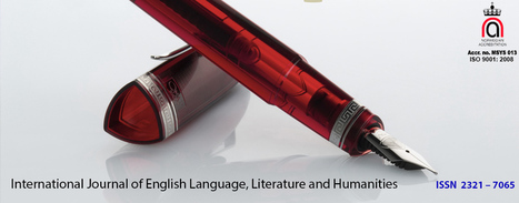 IJELLH | journal of egnlish language literature humanities and basic science | Scoop.it