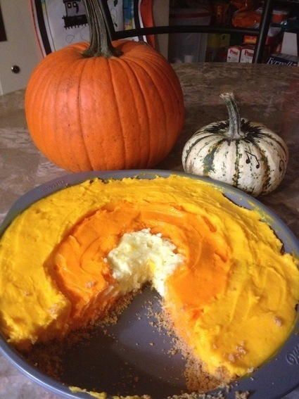 Wilton Checkerboard Cake Pan Set – With Candy Corn Cheesecake Recipe : From Val's Kitchen | The Blog's Revue by OlivierSC | Scoop.it