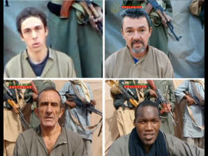Niger. Une vidéo montre les quatre otages français enlevés en 2010 | Du bout du monde au coin de la rue | Scoop.it