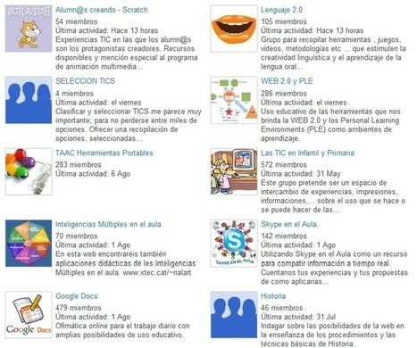 Internet en el aula, una comunidad de 11800 docentes | Nuevas tecnologías aplicadas a la educación | Educa con TIC | Recull diari | Scoop.it
