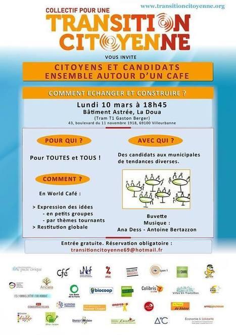 Citoyens et Candidats ensemble autour d'un café | Nature, urbanisme et citoyenneté | Scoop.it
