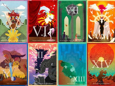 Les magnifiques affiches de Brett Wilson pour commémorer les 25 ans de Final Fantasy | Art, Design and Imagination | Scoop.it