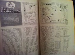 THE STRAND MAGAZINE SHERLOCK HOLMES BAKER STREET PLANS RARE! CONAN DOYLE   Literary   Scoop.it