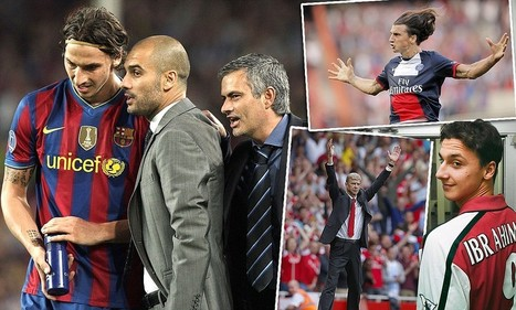 Zlatan Ibrahimovic: I'd die for Jose but Pep is a coward   Sports management: McShane, A   Scoop.it
