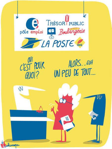 La Poste prête à transformer 1 000 de ses bureaux en maisons de services publics | Les Postes et la technologie | Scoop.it