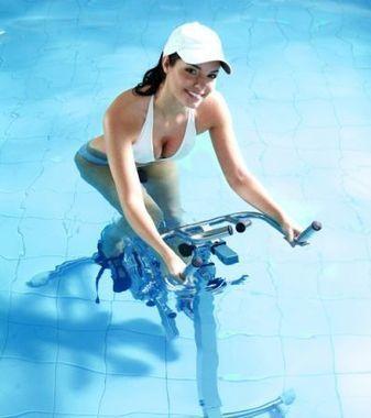 Vélo dans l'eau : présentation de l'aquacycling ou vélo aquatique | Aquabike | Scoop.it