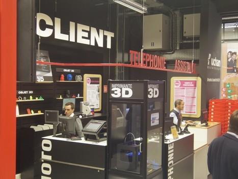 Auchan lance une imprimante 3D à moins de 1000€ ! | Changer la donne | Scoop.it