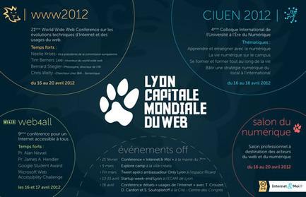 www2012 Lyon, c'est parti ! Regards sur la première journée | La petite revue du journaliste web | Scoop.it