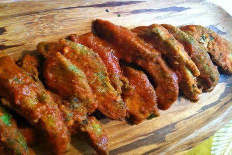 Buffalo Avocado 'Wings' [Vegan]   My Vegan recipes   Scoop.it