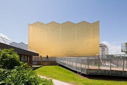[Cergy-Pontoise, France] Theatre 95 / gpaa | The Architecture of the City | Scoop.it