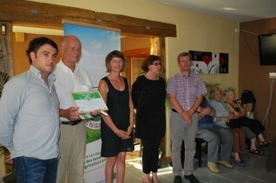 Remise du label Territoire bio engagé | Agriculture en Dordogne | Scoop.it