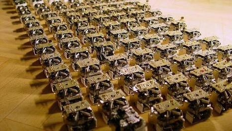 Robot swarms aim to bring buildings to life | AL_TU research | Scoop.it