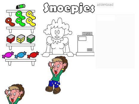 Digibordtool: Winkeltje - Eerlijk snoepjes verdelen | digibord in de bibliotheek | Scoop.it