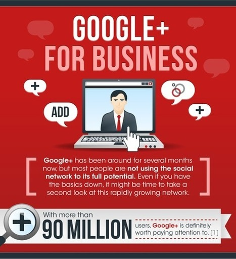 Why Google+ is Good For Business - and the Stats to Prove it [Infographic] - Unbounce | Social Media for Small Business Owners | Scoop.it