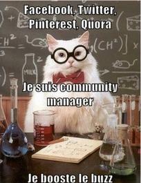 Un community manager, ça fait quoi ? Témoignages et fiche métier | Community Management, tools and best practices | Scoop.it