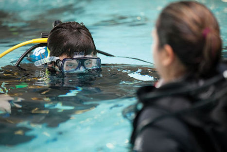 More kids taking the plunge to scuba | All about water, the oceans, environmental issues | Scoop.it