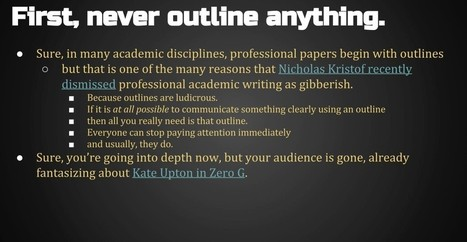 How PowerPoint Is Ruining Higher Ed, Explained in One PowerPoint | Good Advice | Scoop.it