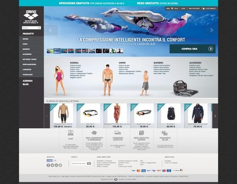 Presentiamo lo store online di Arena al Meet Magento Italy | Cosmobile - Software House Mobile App & Web Application | Scoop.it