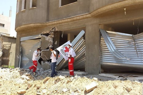 ICRC humanitarian activities during latest Gaza conflict | Legal View On Protection Of Human Rights | Scoop.it