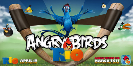 Angry Birds Rio hits 10 million downloads in 10 days | Entrepreneurship, Innovation | Scoop.it