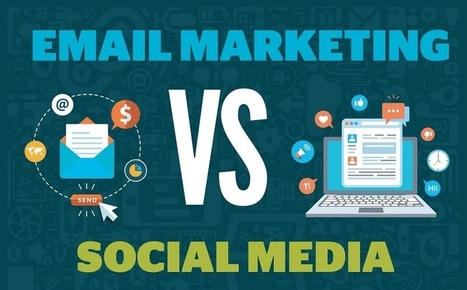 #SocialMedia Vs. Email Marketing - #Infographic | Hot Trends in Social Media | Scoop.it