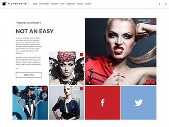 25 Creative HTML5 CSS3 Portfolio Templates | Bashooka | Cool ... | Web design & new things | Scoop.it