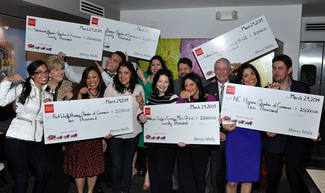 DOUGLAS LEZAMETA: The United States Hispanic Chamber of Commerce Foundation and Wells Fargo Announce Local Chamber Grant Recipients $ 100,000.00 | Sustainable Business in the World | Scoop.it