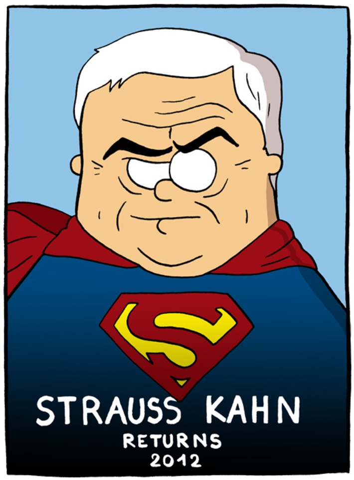 Strauss Kahn returns | Baie d'humour | Scoop.it