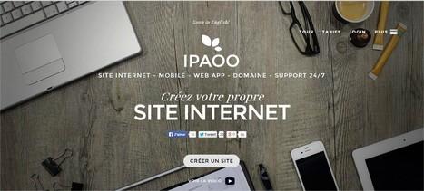 Créer un site de manière très intuitive avec un outil innovant   Créez votre site internet   Scoop.it