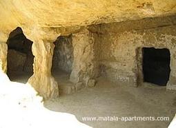 Matala history: caves and ruins in ancient Matala in Minoan Crete   #Crete Island Adventure   Scoop.it