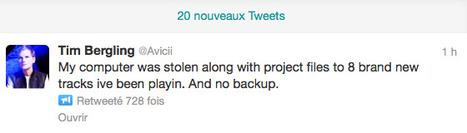Qui a volé l'ordinateur portable d'Avicii ?   DJs, Clubs & Electronic Music   Scoop.it