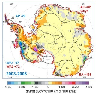 NASA Study: Long Term Antarctic Ice Sheet Gains Still Outweigh Short Term Losses | Amazing Science | Scoop.it