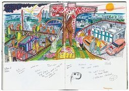 Sketchbooks by Grayson Perry review – from bikers to Little Bo Peep | Graphic Facilitation and Sketchnoting | Scoop.it