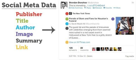 Social Meta Data: Must-Have Social Meta Tags for Twitter, Google+, Facebook and More | Aware Entertainment | Scoop.it