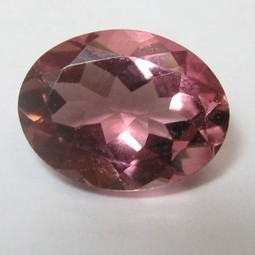 Batu Permata Natural TOurmaline Oval VSI pink 1.09 Carat | ambisi pribadi | Scoop.it