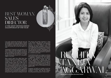 Ruchita Taneja Aggarwa Director, North & East India Sales Head, Citibank Best Woman Sales Director Winner | Women In Sales | Scoop.it