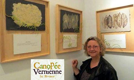 Expo : Isa Slivance présente Canopée Vernienne | Jules Verne News | Scoop.it