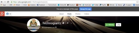 How To Claim Google+ Custom URL for your Website's page   Rooting Tutorials   Scoop.it
