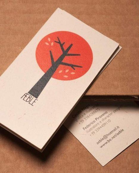 25 Illustrative Business Card Design Ideas | illustrative design | Scoop.it
