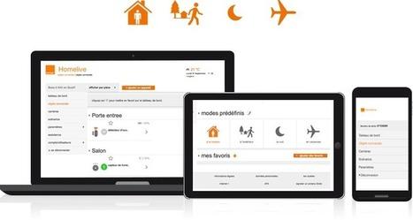 Homelive, pilotez votre maison depuis votre mobile | Economies du Futur ! | Scoop.it