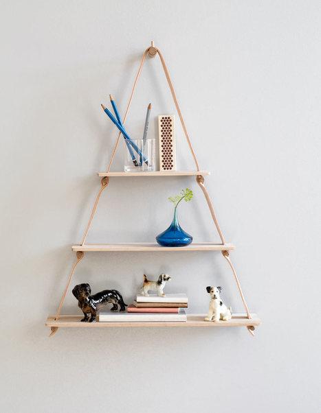 Handmade Leather & Oak Goods from by Wirth - Design Milk | Du mobilier, ou le cahier des tendances détonantes | Scoop.it