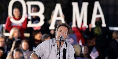 Barack Obama : with a little help from Bruce (Springsteen) - le Monde | Bruce Springsteen | Scoop.it