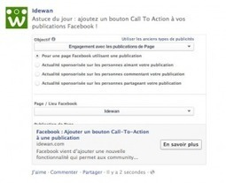 Facebook : Ajouter un bouton Call-To-Action à une publication | Focus Mobile Marketing | Scoop.it